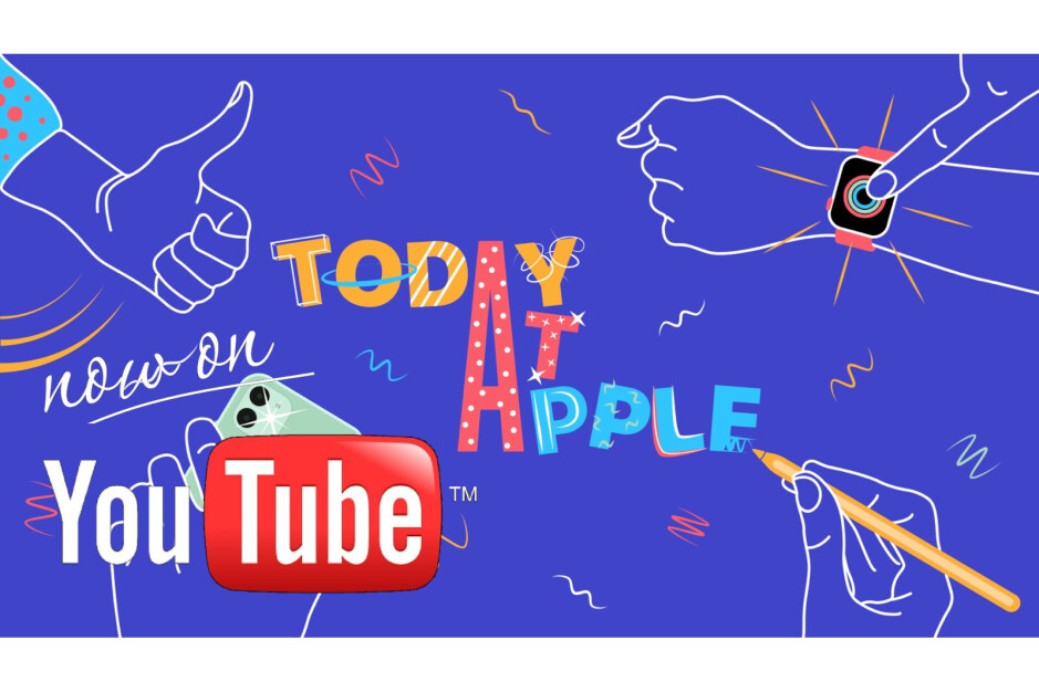 Background image credit - 9to5mac - Today at Apple tutorials have arrived to YouTube