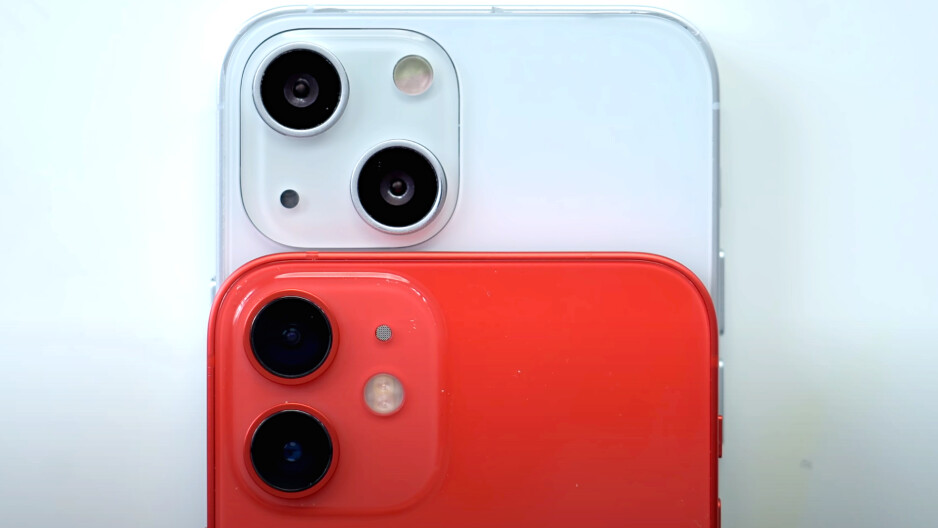 iPhone 12 vs iPhone 13 - the cameras move, but why?  Image courtesy of MacRumors.  - Flaregate: Will iPhone 13 Solve the Biggest iPhone 12 Camera Problem?
