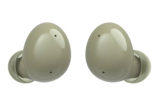 Galaxy Buds 2 in green - Samsung Galaxy Buds 2 app reveals yellow color scheme, battery capacity and new features