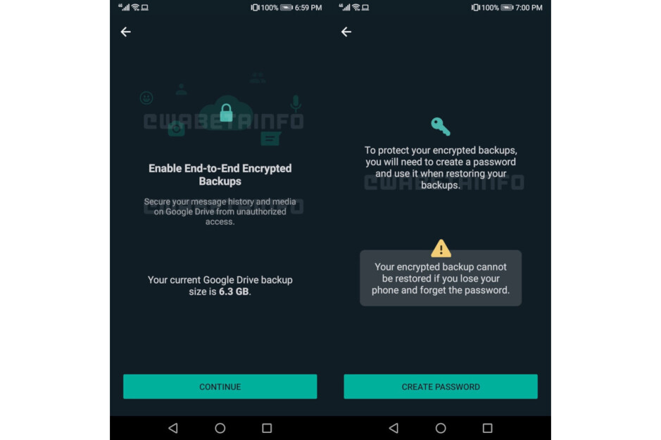 WhatsApp cloud backups get end-to-end encryption