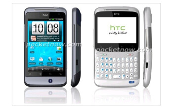 Rendered shots of HTC handsets with dedicated Facebook buttons leak