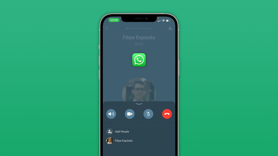 WhatsApp version 2.21.140 for iOS brings a new call interface - WhatsApp for iOS gets a redesigned call interface with new update