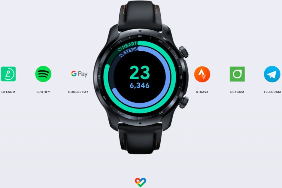 The TicWatch Pro 3 GPS will be eligible for the optional Wear OS 3 update - Google finally confirms Wear OS 3 name and super-short list of devices eligible for 'opt-in' update
