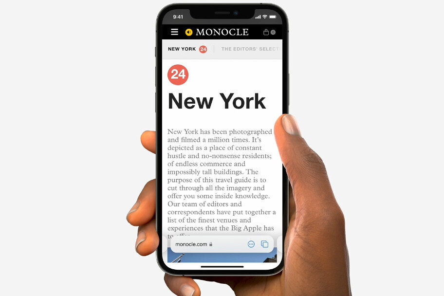 Safari gets redesigned in iOS 15 beta - iOS 15 Safari redesign: former Google designer explains why Google tried a similar thing and abandoned it