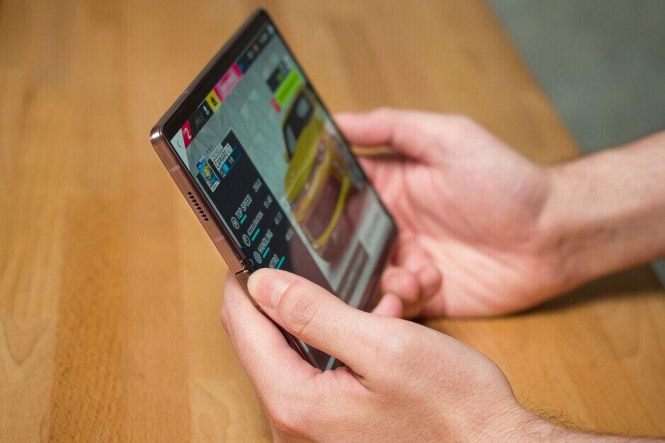 The Z Fold 2 (shown here) is great for gaming thanks to that big screen and solid build, but it could be lighter. The Z Fold 3 will be! - Why I'm excited for the Galaxy Z Fold 3 – a power user's dream phone