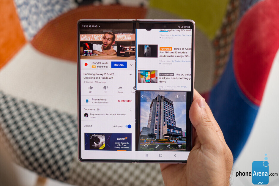 The Z Fold series are fantastic for multitaskers! - Why I'm excited for the Galaxy Z Fold 3 – a power user's dream phone