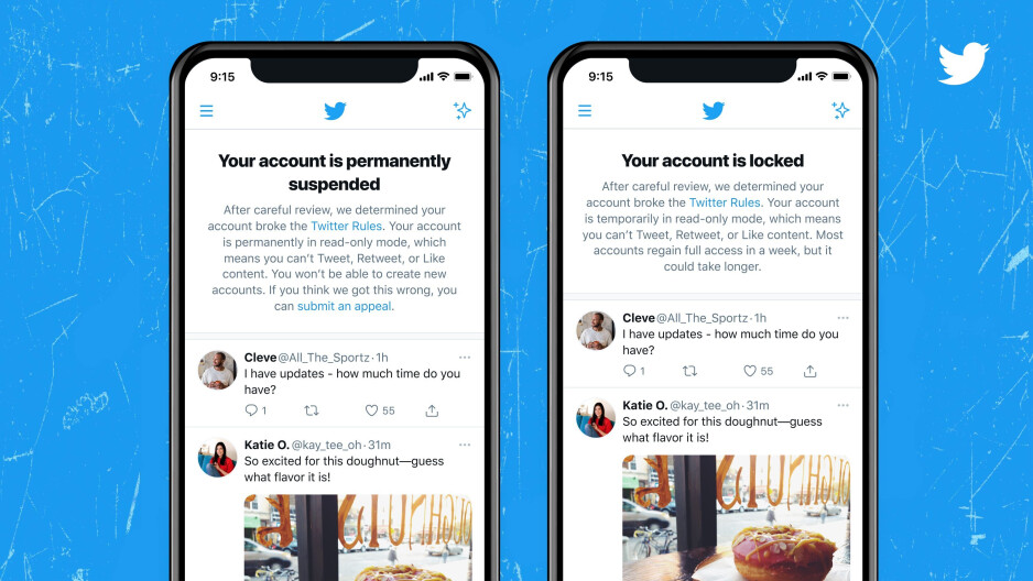 Twitter is testing a new way to inform users their account was suspended or blocked - Twitter working on a new way to inform you if your account has been locked or suspended