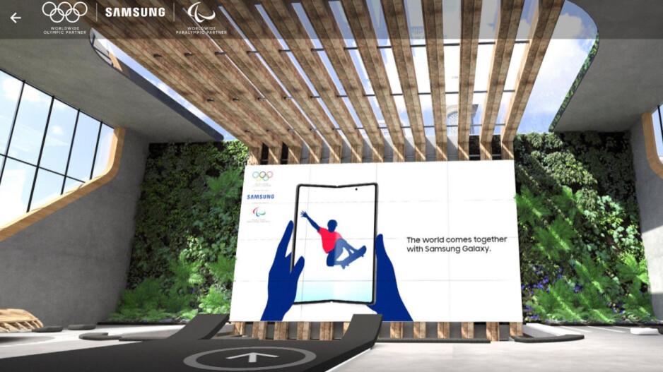 Galaxy Z Fold 2 apareció en el Samsung Media Center virtual: Samsung regaló modelos Galaxy S21 5G de edición limitada a los participantes olímpicos y paralímpicos