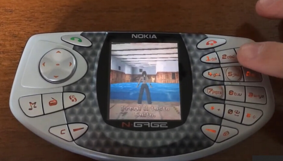 Tomb Raider on the N-Gage - How engaging was the Nokia N-Gage? – Odd Phone Mondays