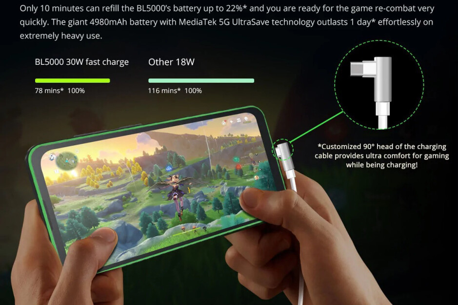 Blackview BL5000 — world's first 5G rugged gaming smartphone, now $299.99