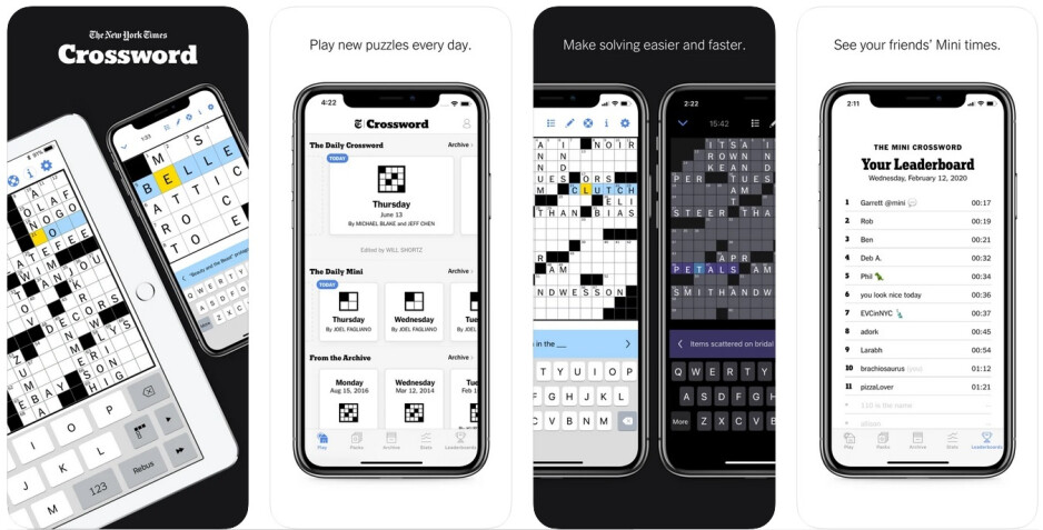 The NY. Times Crossword app brings you the most challenging puzzels right from the pages of the New York Times - New York Times ends third party app access to its crossword puzzles