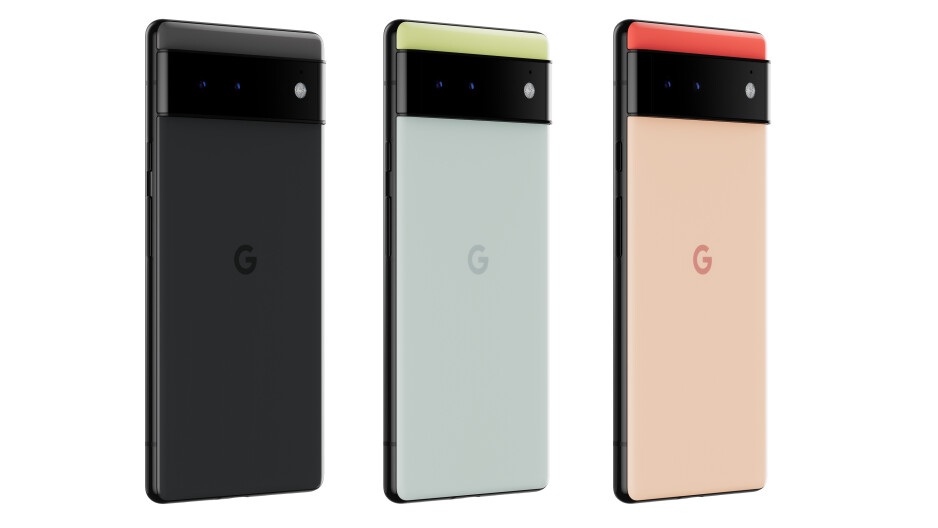 Pixel 6 colors, the orange-coral on the right hand side - Pixel 6 and Pixel 6 Pro expected colors: which color should you get?