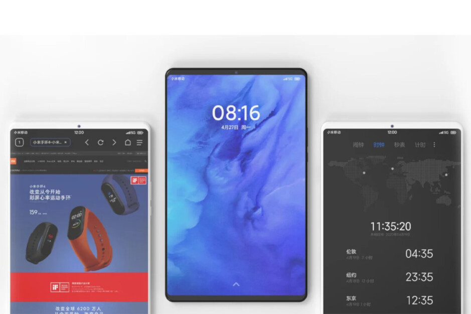 Unofficial renders of the Mi Pad 5 series - Xiaomi confirms launch of Mi Mix 4, new tablets next week