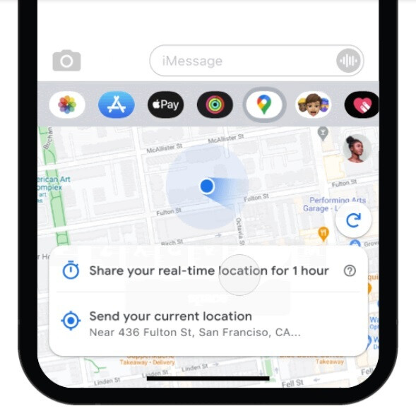 Share your location for one hour to as long as three days using iMessage and Google Maps - Check out the new features coming to the iOS version of Google Maps (Dark Mode is included!)