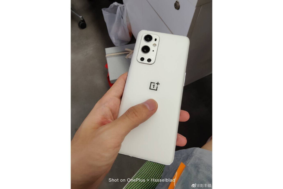 An image of the white OnePlus 9 Pro shared by OnePlus on Weibo - Matte White OnePlus 9 Pro not canceled after all