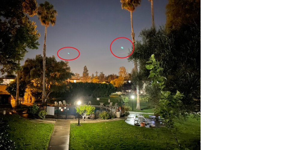 Green dots appear in this photograph snapped by an iPhone 12 Pro Max - Apple has a plan to rid photos of those ugly green flares with iOS 15