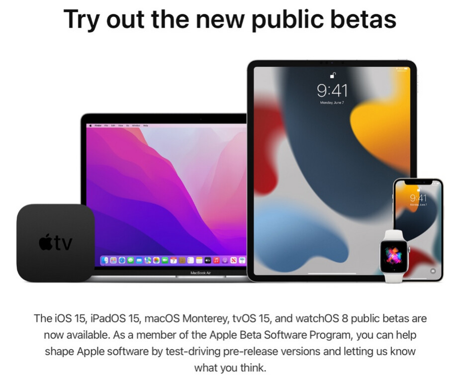 Apple is sending out an email to those who subscribed to its Beta Software Program trying to recruit new beta testers - Apple seeks additional beta testers for more feedback on iOS 15