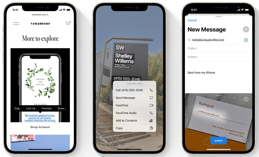Live Text is another exciting new feature coming to iOS 15 - Apple seeks additional beta testers for more feedback on iOS 15