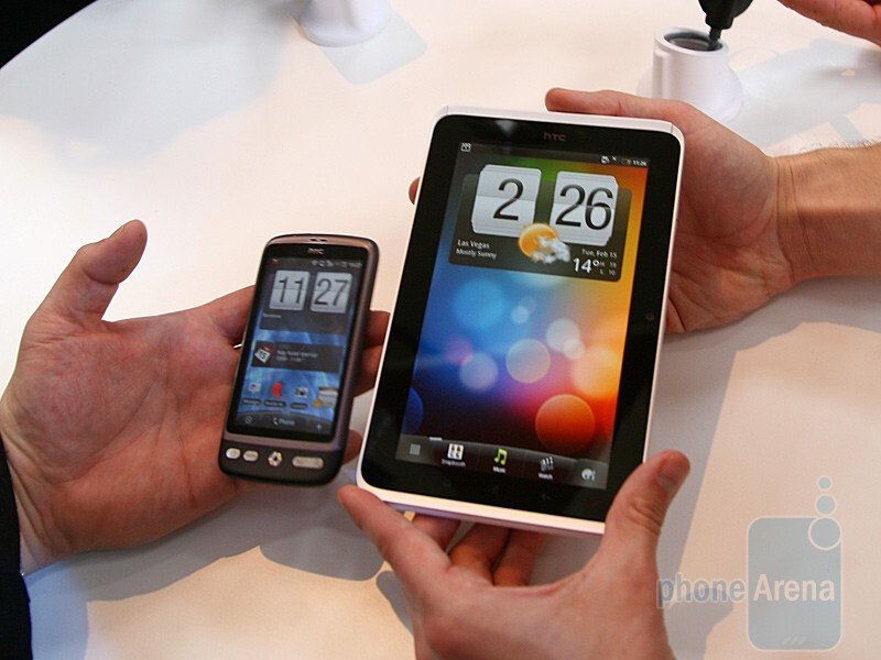 HTC Flyer Hands-on
