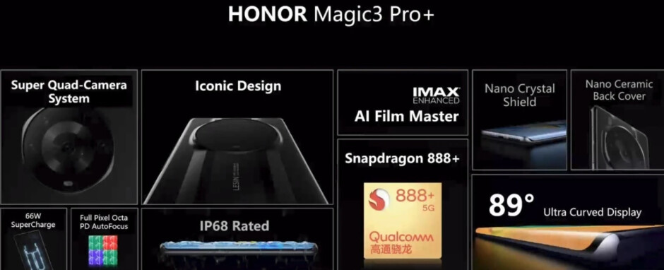The Honor Magic 3 Pro+ is the top-of-the-line model - It's Magic! Honor denies that its new phones are rebranded Huawei Mate 50 models