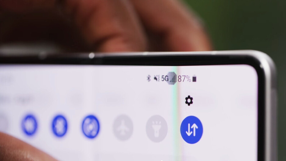 Samsung's implementation of an UDC is very much first-gen, and you can tell. - It's happening! Under-display camera phones are finally here, but not all are created equal
