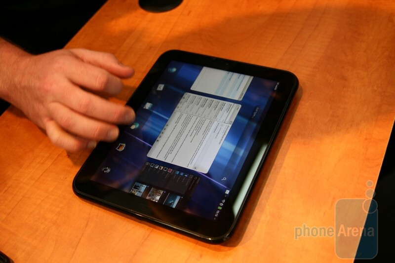 HP TouchPad hands-on