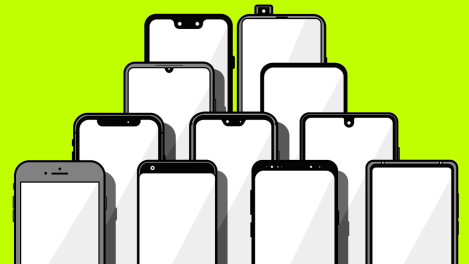 They come in different shapes. The size does matter. - It's happening! Under-display camera phones are finally here, but not all are created equal