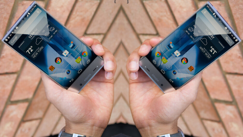 The Aquos Crystal was out first encounter with an edgeless-ish smartphone. - It's happening! Under-display camera phones are finally here, but not all are created equal