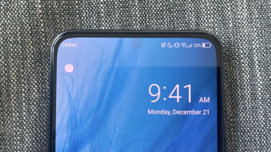 Hidden? Kinda. Almost. Not really. - It's happening! Under-display camera phones are finally here, but not all are created equal