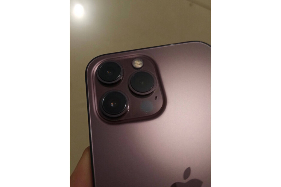 Image seems to show the rumored Rose Gold iPhone 13 Pro - New images claim to show the back of the Rose Gold iPhone 13 Pro