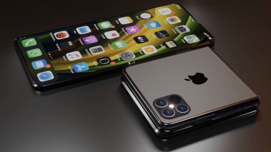 """It won't fold like on this image, but it might still be a much better upgrade... - iPhone 13 - Apple's way of saying: """"Buy an iPhone 12, or wait for iPhone 14"""""""
