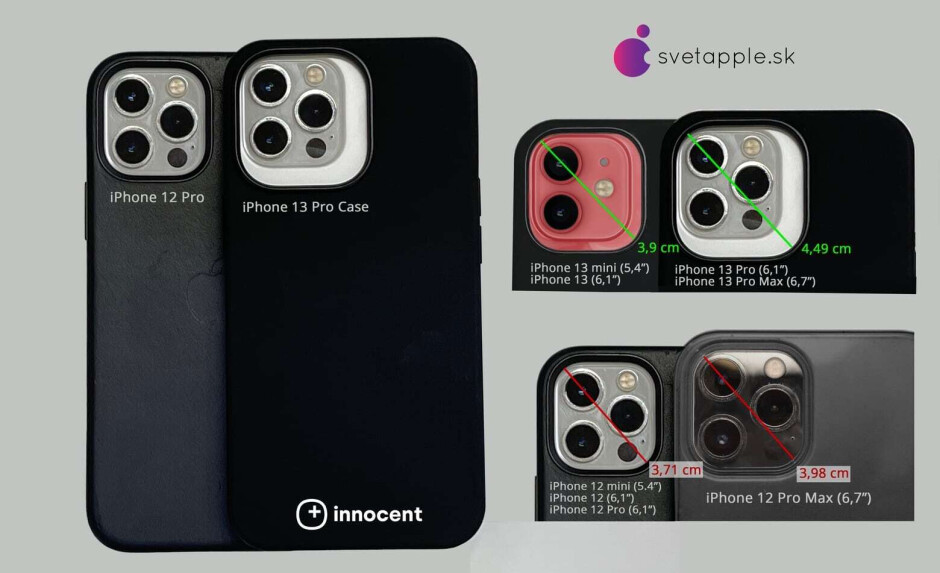 Case shows larger camera module for the 2021 iPhone models - Pictures of alleged 5G iPhone 13 Pro case reveal larger camera module, thicker body and more