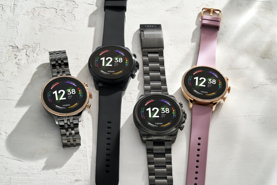 Stylish Fossil Gen 6 smartwatch goes official with new processor, old software, blazing fast charging