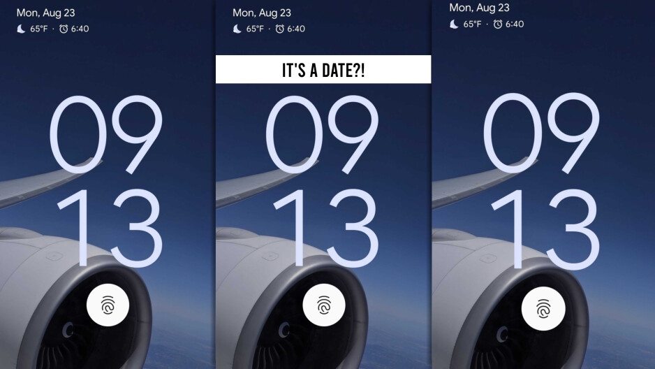"""This is a screenshot shared by Hiroshi Lockheimer - Google SVP. It reveals a Pixel device with an in-screen fingerprint reader, likely the Pixel 6. However - could the """"time"""" on the screenshot actually be a date?! Is Google Pixel 6 coming out September 13 - a day before the iPhone 13?! That's a stretch, but stretching is good for you. Jon Prosser claims the Pixel 6 is coming out in October. - Pixel 6: Google and Samsung's overdue flagship takes on iPhone 13, after failing to launch in 2020"""