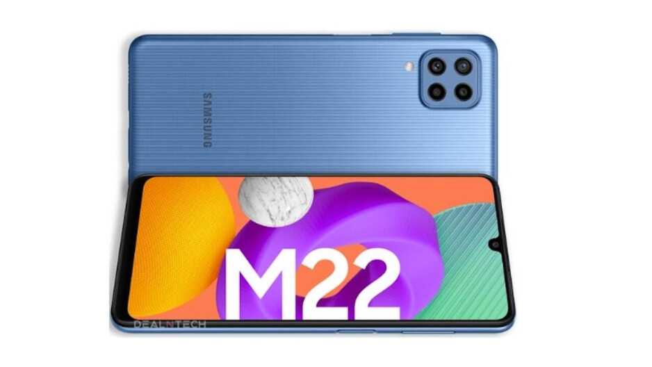 The Samsung Galaxy M22 budget model might soon be unveiled - Unveiling seems imminent for the Samsung Galaxy M22 and its rumored 6000mAh battery