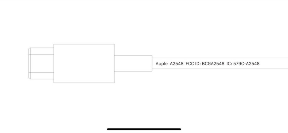 Image from FCC filing shows Lightning plug for the MagSafe charger - FCC filing shows MagSafe charger for 5G iPhone 13 line and AirPods charging case