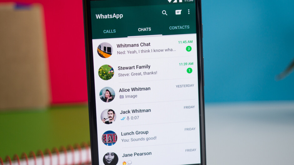 WhatsApp for iOS will be getting redesigned chat bubbles in a future update