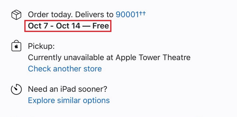 Delivery dates for the iPad (2020) are pushed back to October indicating a lack of supply in advance of the upcoming new model - Apple tells retail employees not to gossip about new iPad; 5G iPad mini 6 incoming