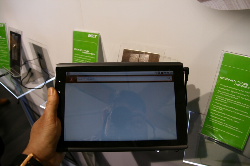 The Acer Iconia Tab A500 is supposed to appear on Verizon's LTE netowrk - Best tablets of MWC 2011: PhoneArena's pick