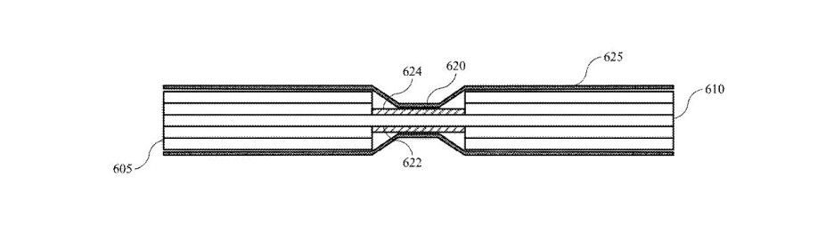 Apple patent application for bendable battery - Apple once again patents a foldable battery for its foldable iPhone