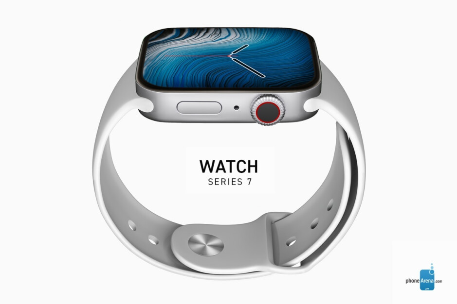 Apple Watch Series 7 concept render - Key upgrade tipped for next year's Apple Watch Series 8 gains traction