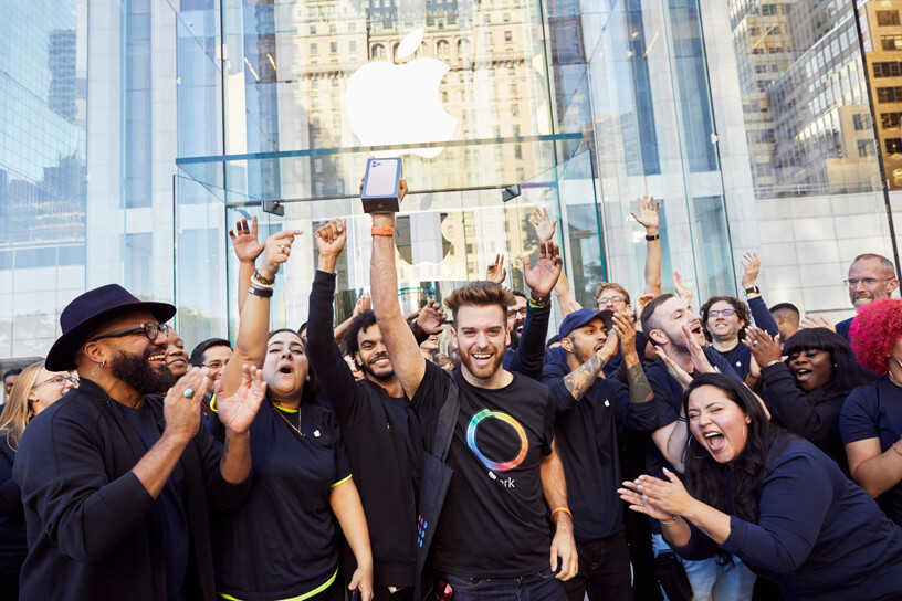 Apple can create a lot of hype around new iPhones, just not around new BUDGET iPhones (image from iPhone 11 series launch) - Google's latest phone teaches Apple an important lesson