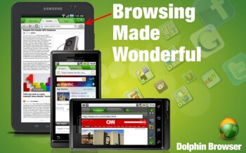 All Android users can now have the Dolphin Browser downloaded on their device with the new Tablet edition of the software