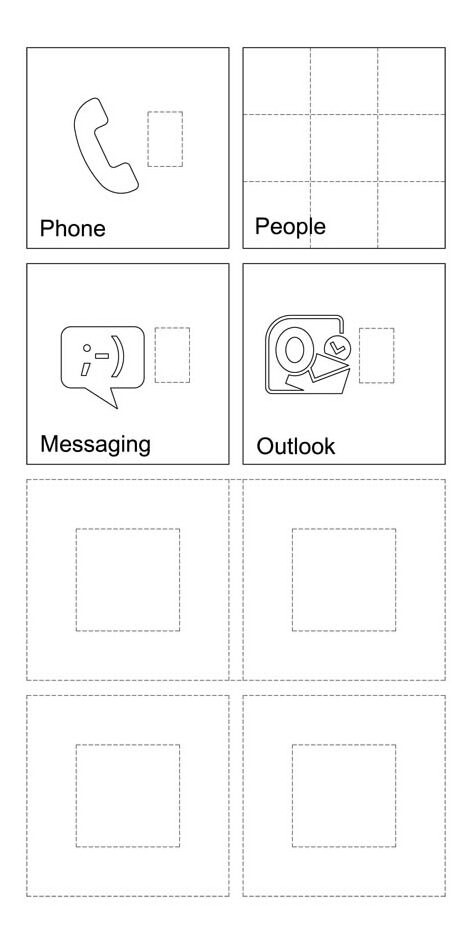 Microsoft files a trademark that covers the look of the WP7 homescreen