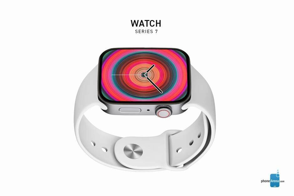 Apple Watch Series 7 render - Apple insider gives mini-preview of Tuesday iPhone 13 California Streaming event