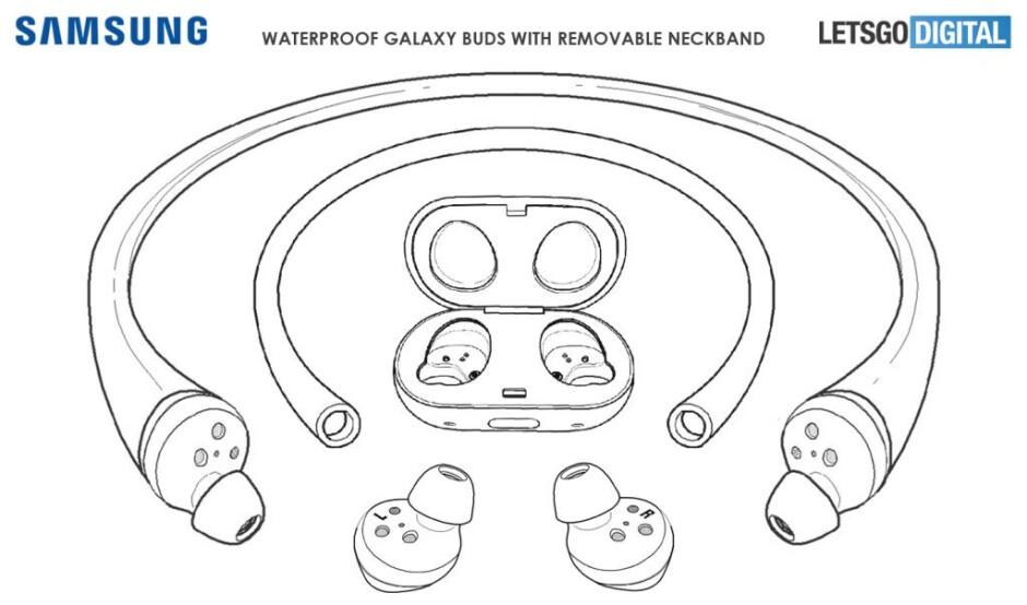 Samsung patents swim-oriented Galaxy Buds with waterproof design