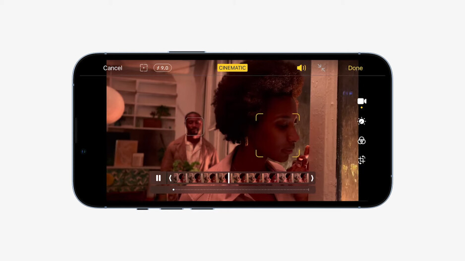 Cinematic portrait video mode on the iPhone 13 series - Apple goes big with the iPhone 13: bigger camera, battery, storage, same price