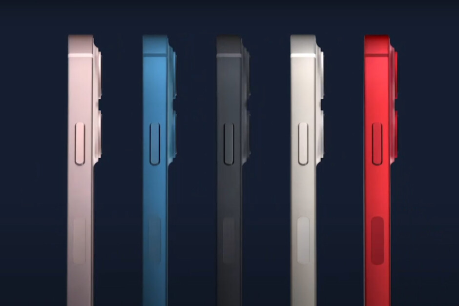 iPhone 13 and 13 Pro colors announced