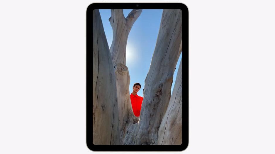 Uma foto aprimorada com HDR inteligente - o iPad mini 6 possui porta USB-C, 5G, novo display, Touch ID deslocado