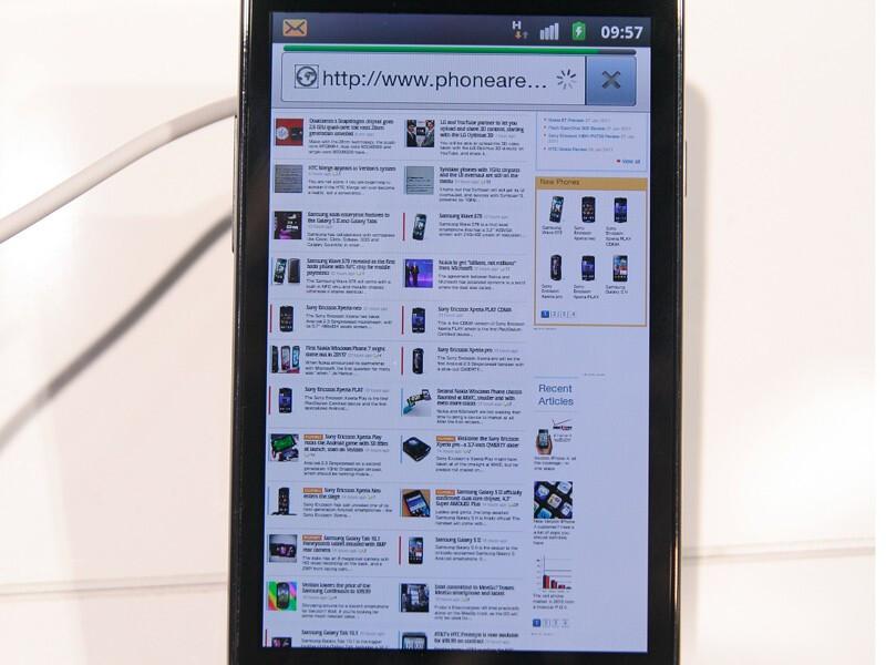 Samsung Galaxy s ii Hands on